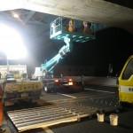 速道路標識の設置